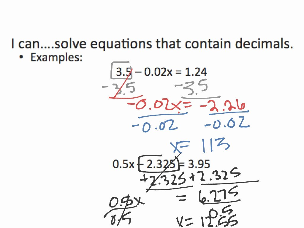 Solving Equations with Fractions Worksheet Elegant Download This solving Multistep Equations with Fractions