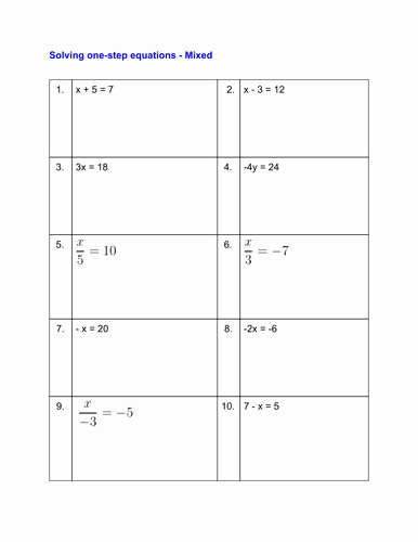 Solving Equations Worksheet Pdf New solving Equations Worksheets by Pittan Teaching