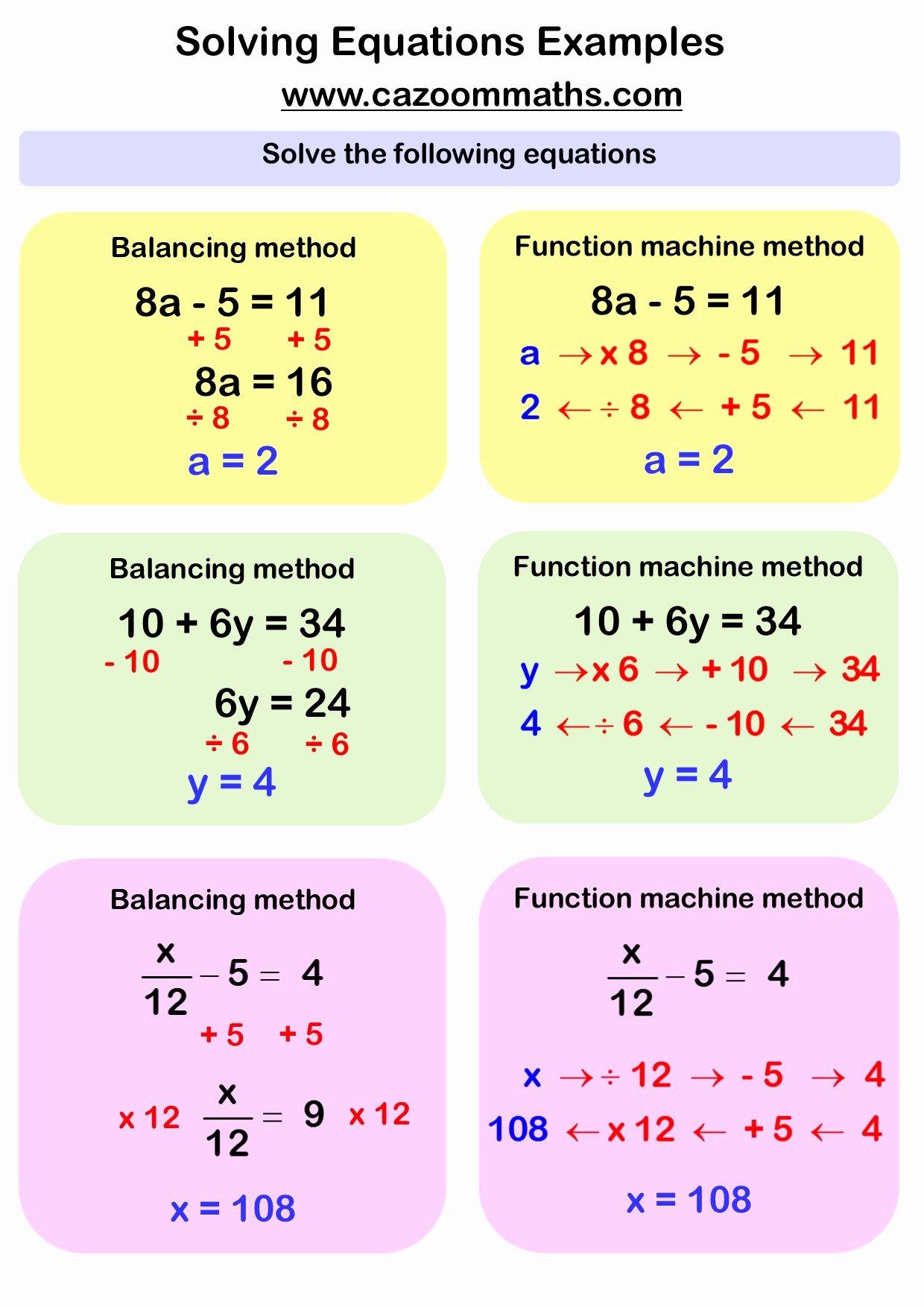 Solving Equations Worksheet Pdf New solving Linear Equations Word Problems Worksheet Pdf