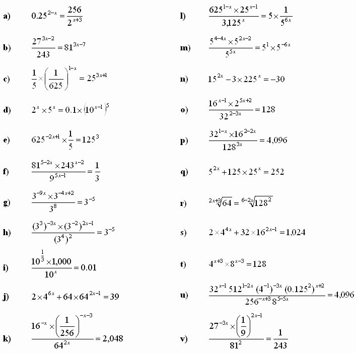 Solving Exponential Equations Worksheet Luxury solving Logarithmic Equations Worksheet