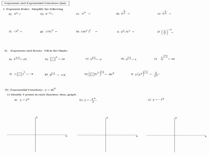 Solving Exponential Equations Worksheet Unique Exponential Equations Worksheet
