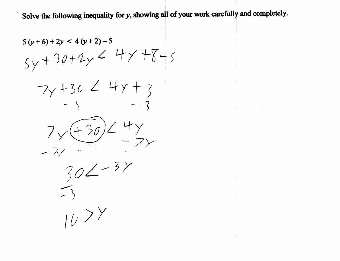 Solving for Y Worksheet Unique solve for Y