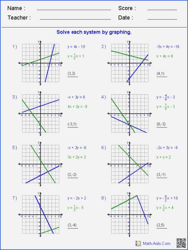 Solving Inequalities Worksheet Answer Key New solving and Graphing Inequalities Worksheet Answer Key