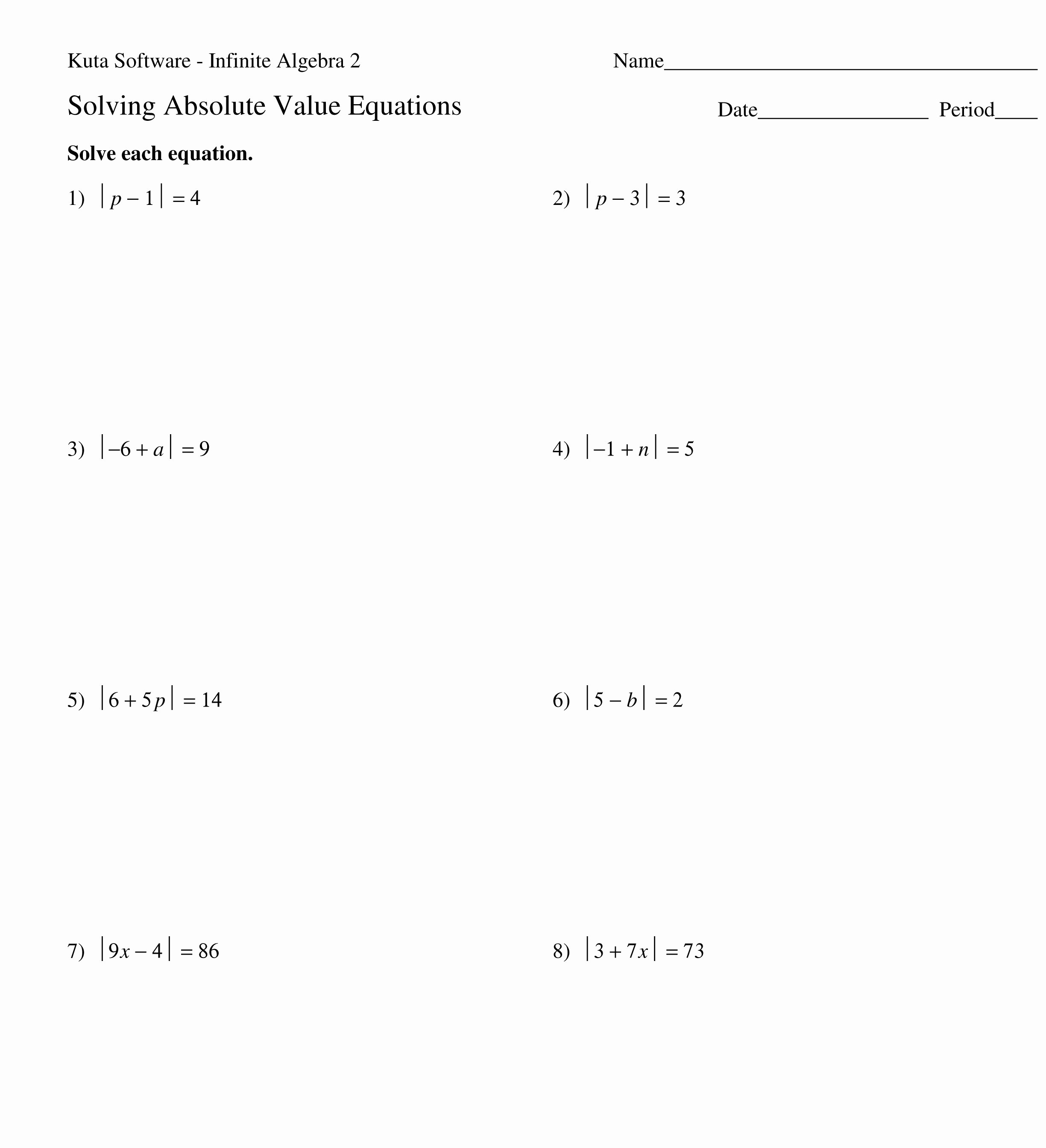 Solving Inequalities Worksheet Pdf Best Of Uncategorized
