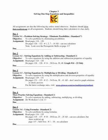 Solving Inequalities Worksheet Pdf Fresh E Step Equations Worksheet Pdf Worksheets to the and