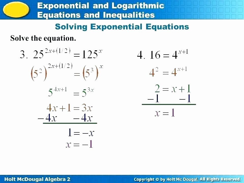Solving Inequalities Worksheet Pdf Unique solving Equations with Exponents Worksheet Pdf Tessshebaylo