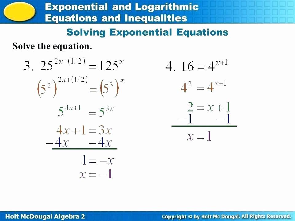 Solving Inequalities Worksheet Pdf Unique solving Equations with Exponents Worksheet Pdf Tessshebaylo