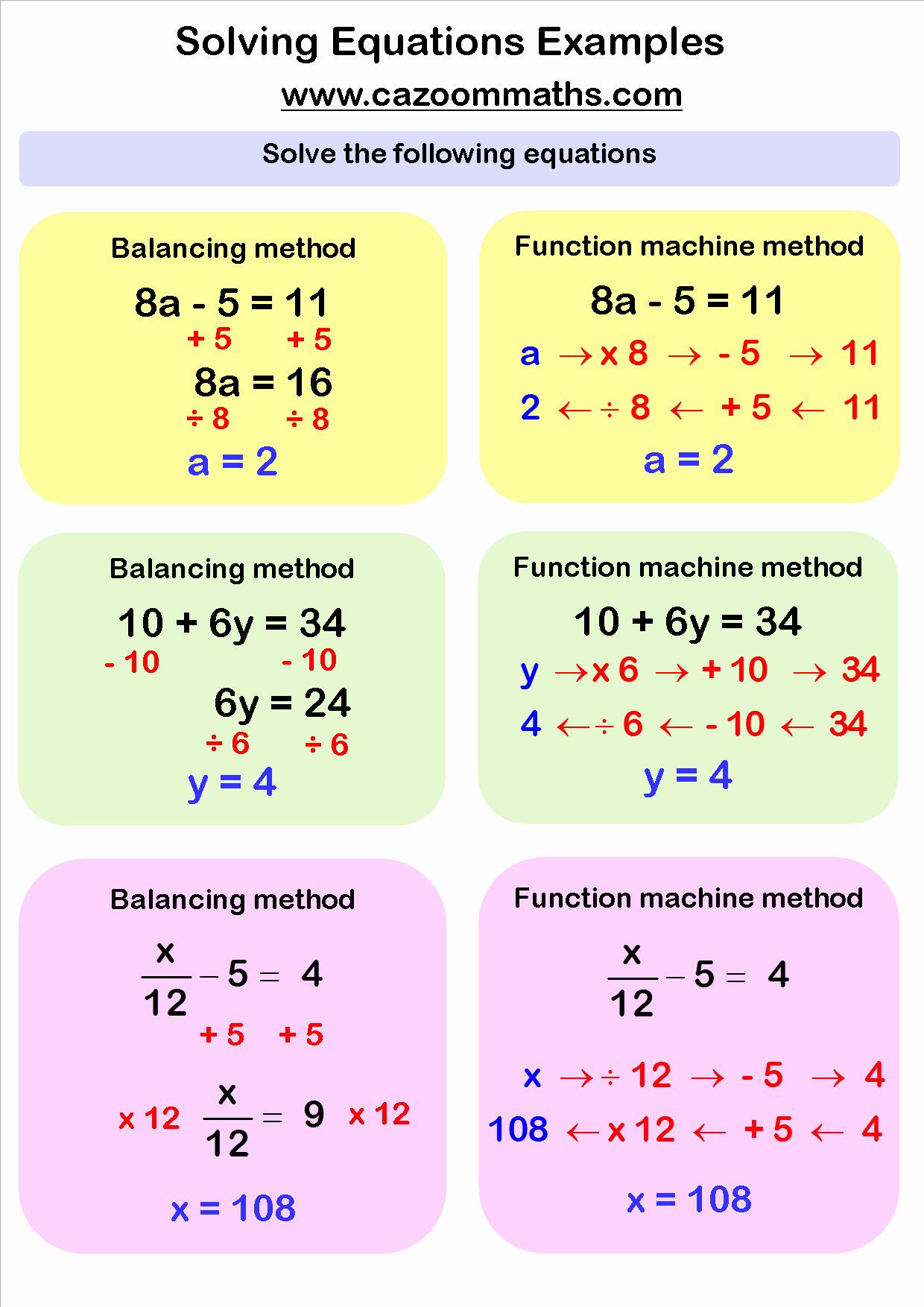 Solving Linear Equations Worksheet Pdf Unique solving Linear Equations Worksheets Pdf