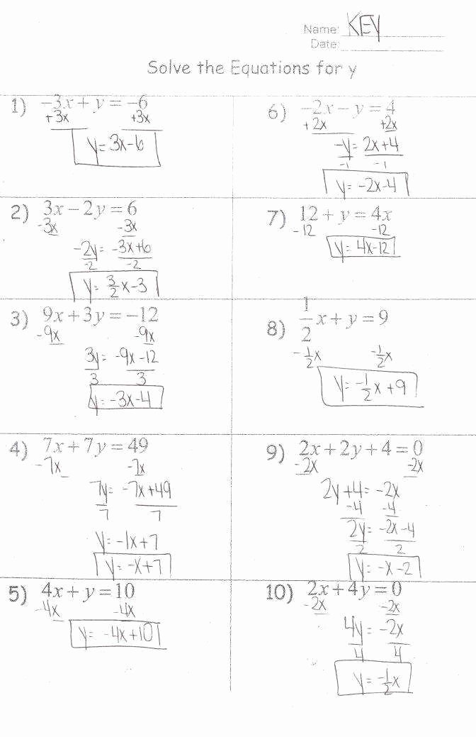 Solving Literal Equations Worksheet Awesome solving Literal Equations Worksheet