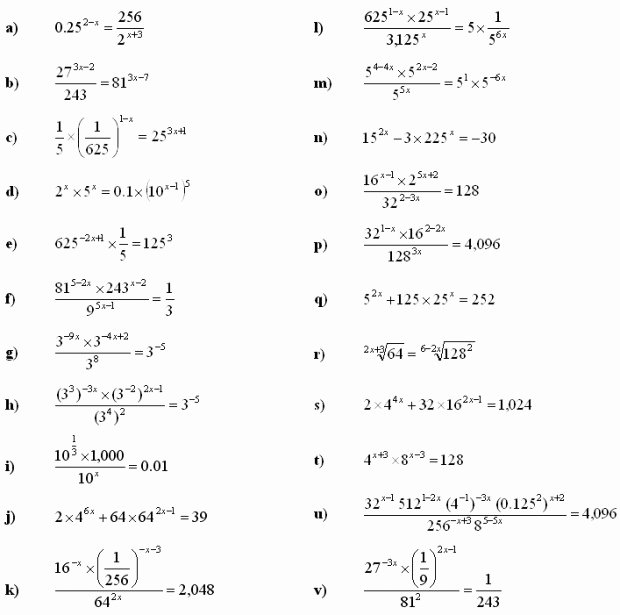 Solving Logarithmic Equations Worksheet New Exponential Equations Worksheet