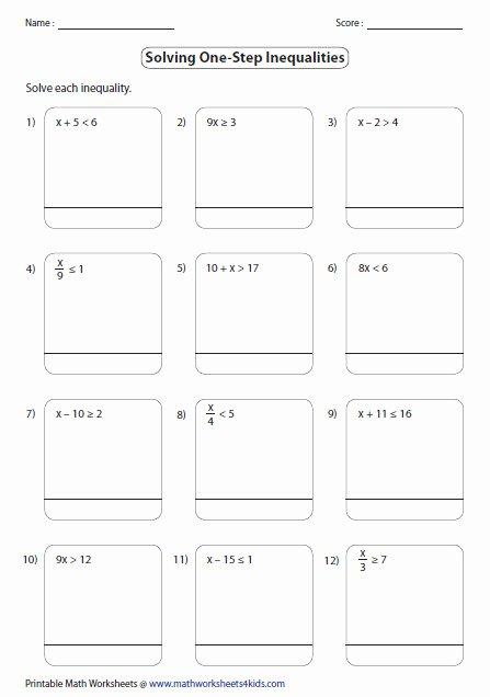 Solving Multi Step Inequalities Worksheet Inspirational solving Multi Step Inequalities Worksheet