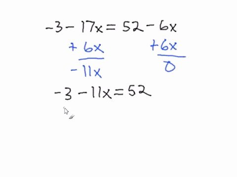 Solving Multi Step Inequalities Worksheet New solving Multi Step Equations with Variables On Both Sides