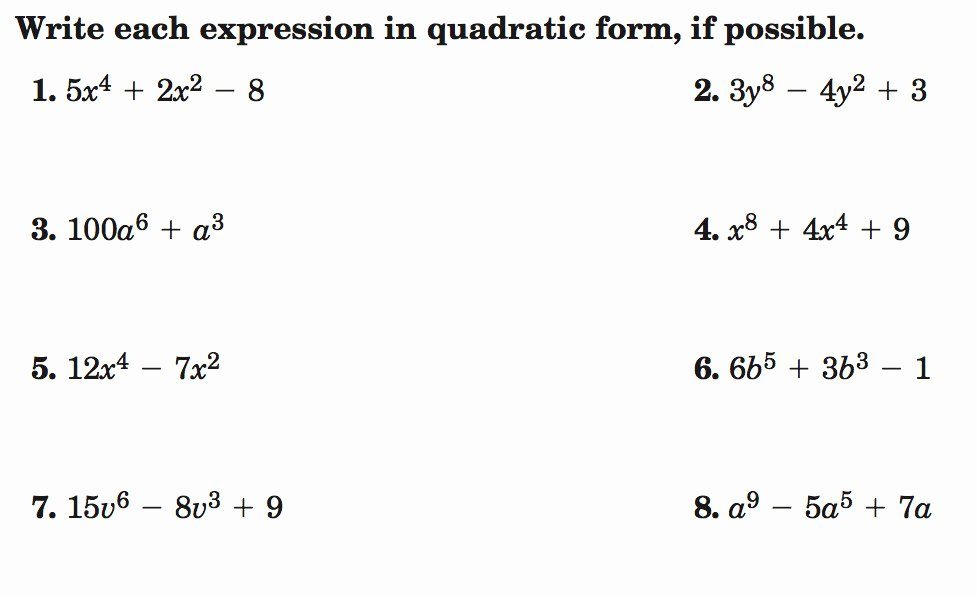 Solving Polynomial Equations Worksheet Answers Lovely solving Polynomial Equations Worksheet