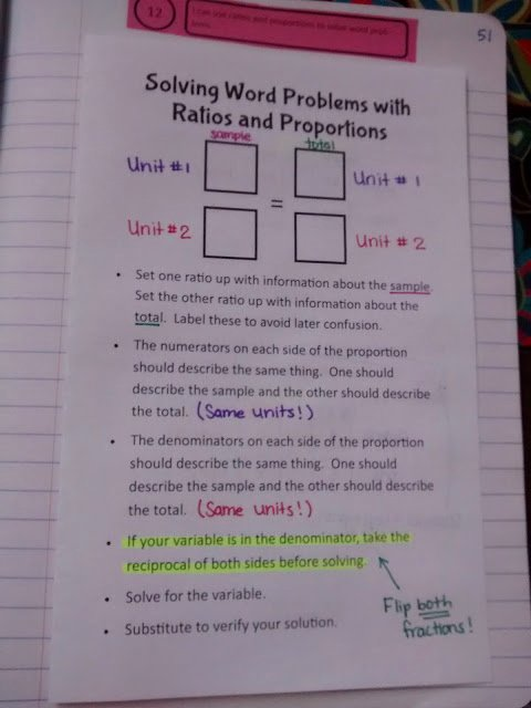 Solving Proportions Word Problems Worksheet Beautiful Math = Love solving Word Problems with Ratios and Proportions