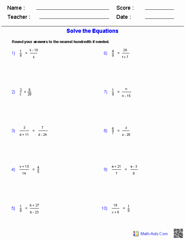 Solving Proportions Word Problems Worksheet Best Of Algebra 1 Worksheets