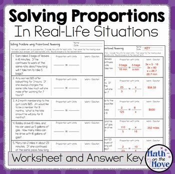 Solving Proportions Word Problems Worksheet Fresh Proportions Word Problem Worksheet Freebie by Math On