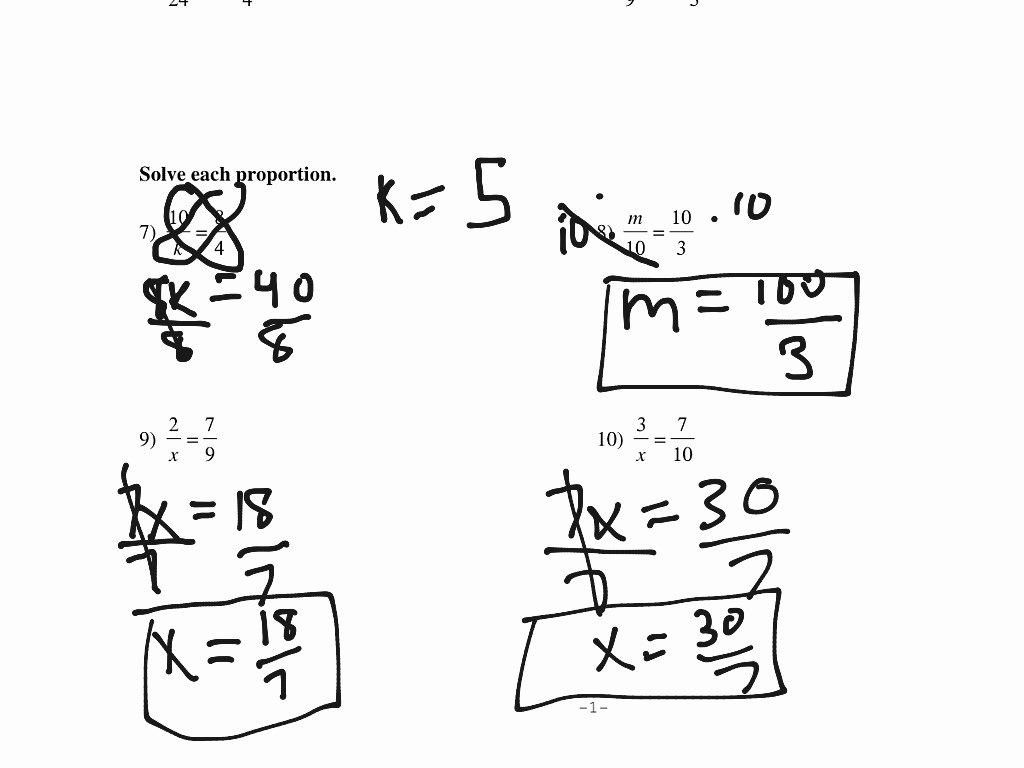 Solving Proportions Worksheet Answers Elegant solving Proportions Worksheet Math Algebra