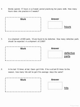 Solving Proportions Worksheet Answers New Writing and solving Proportions Cut and Paste Worksheet