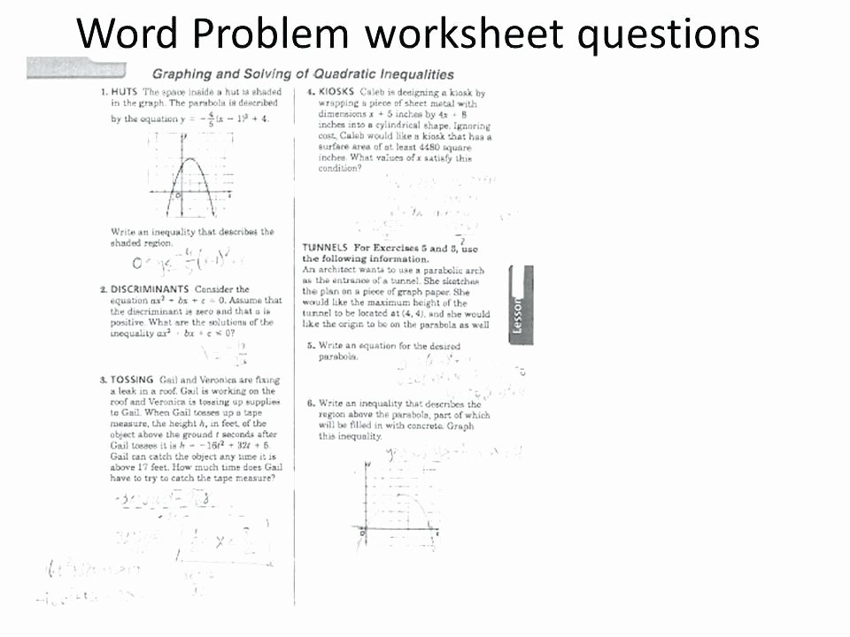 Solving Quadratic Inequalities Worksheet Inspirational 24 Graphing Quadratic Functions Worksheet Answers Algebra