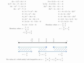 Solving Quadratic Inequalities Worksheet Luxury solving Quadratic Inequalities Resources