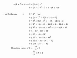 Solving Quadratic Inequalities Worksheet Unique Quadratic Discriminant Leading to Quadratic Inequalities