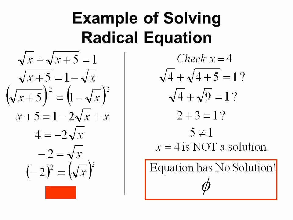Solving Radical Equations Worksheet Luxury solving Radical Equations Worksheet
