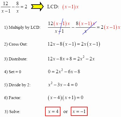Solving Rational Inequalities Worksheet Elegant solve Rational Equations with Gradea