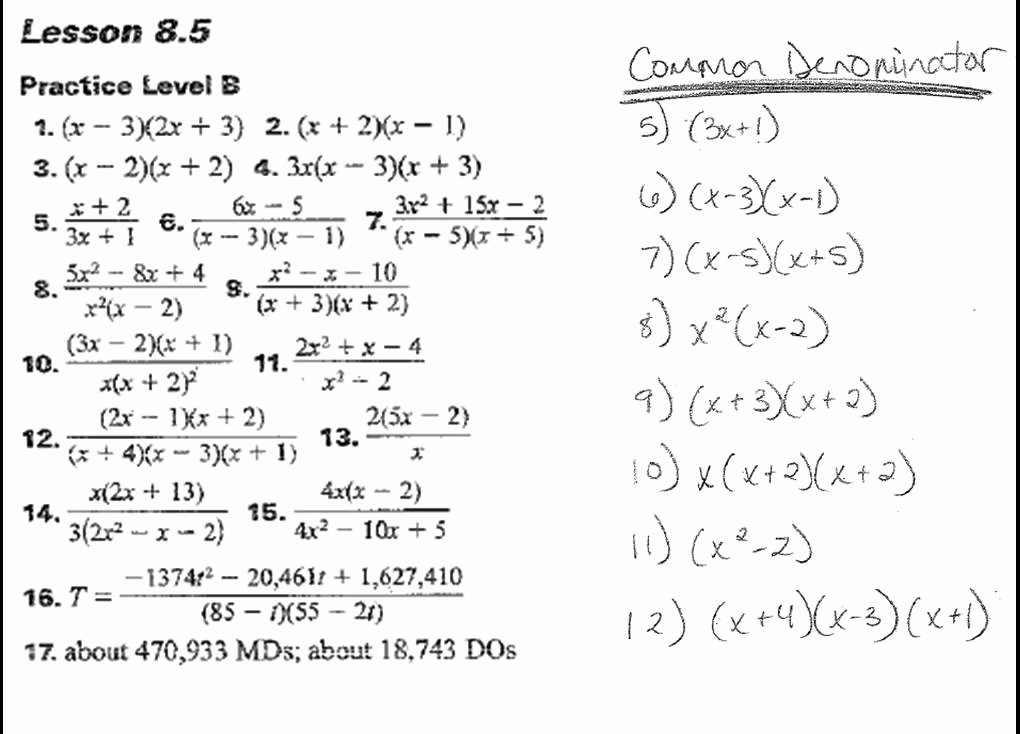 Solving Rational Inequalities Worksheet Fresh solving Rational Equations and Inequalities Tessshebaylo