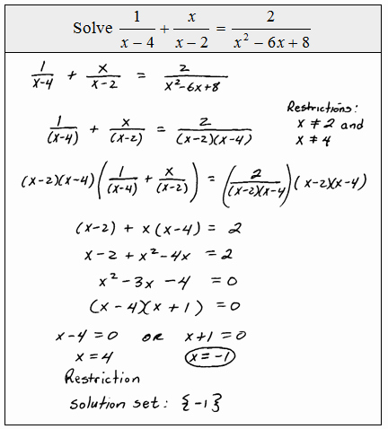 Solving Rational Inequalities Worksheet Inspirational Openalgebra solving Rational Equations