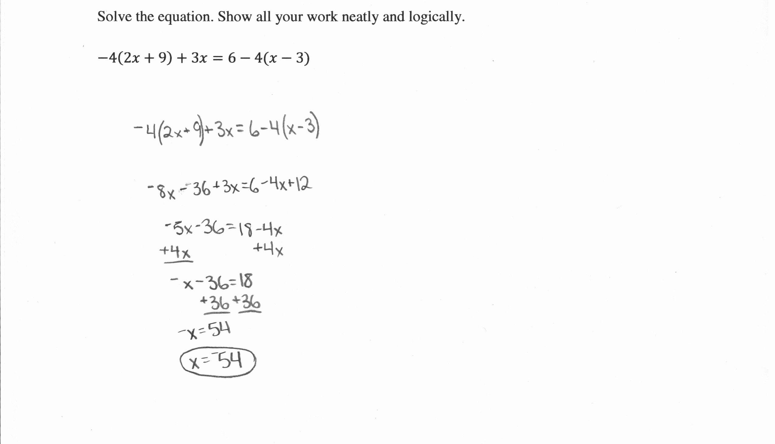 Solving Rational Inequalities Worksheet Lovely Linear Equations 3