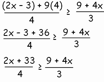 Solving Rational Inequalities Worksheet New solving Rational Inequalities with Fractions On Both Sides