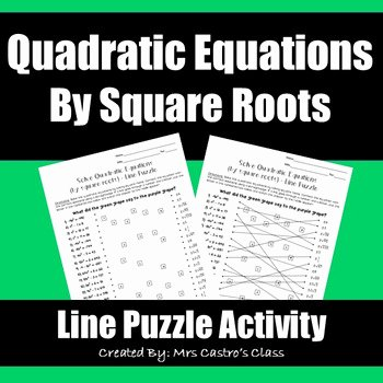 Solving Square Root Equations Worksheet Best Of Sine On the Line Teaching Resources