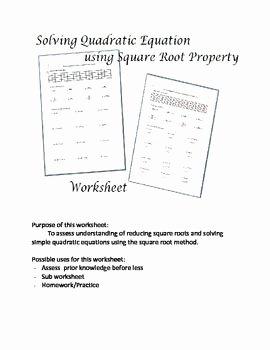 Solving Square Root Equations Worksheet Inspirational 323 Best Algebra 2 Images On Pinterest