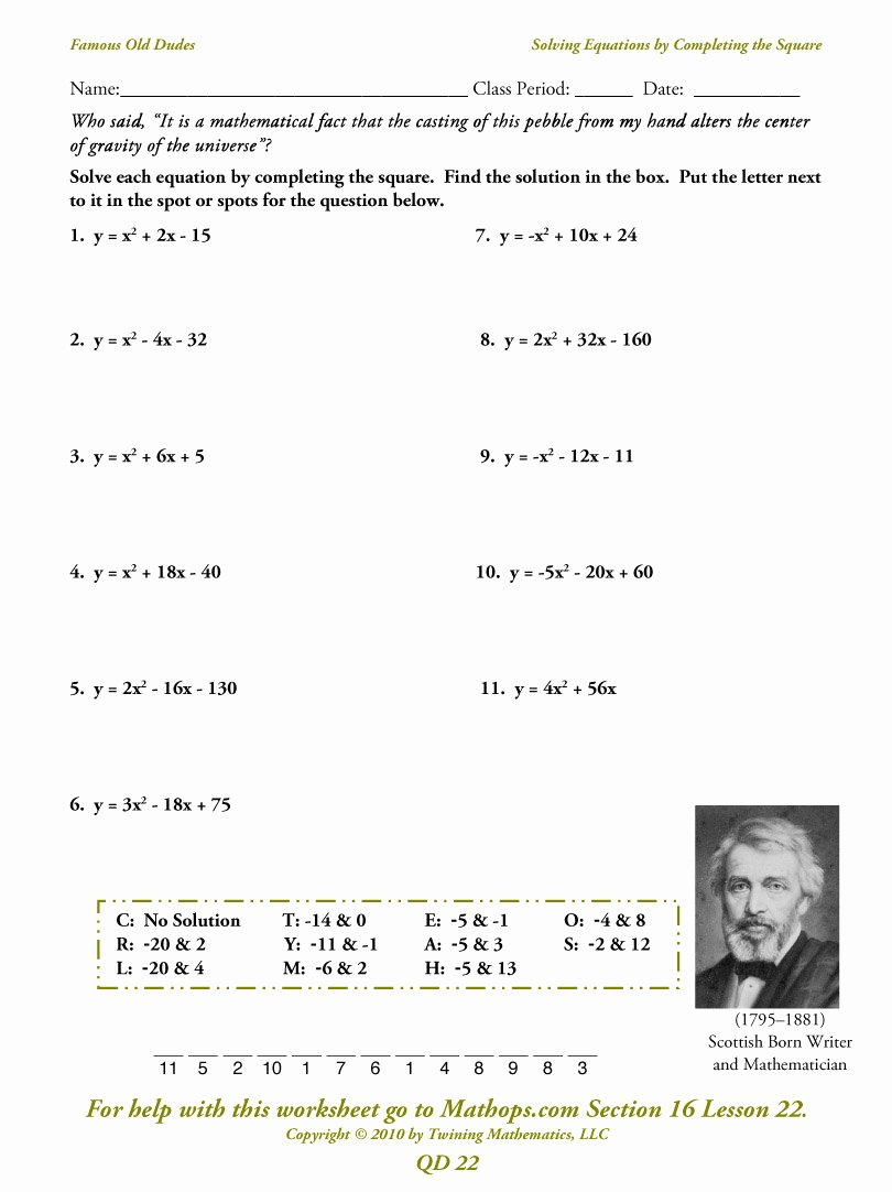 Solving Square Root Equations Worksheet Lovely Qd 23 Imaginary Numbers Mathops