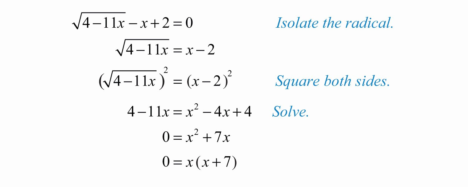 Solving Square Root Equations Worksheet Lovely solving Radical Equations