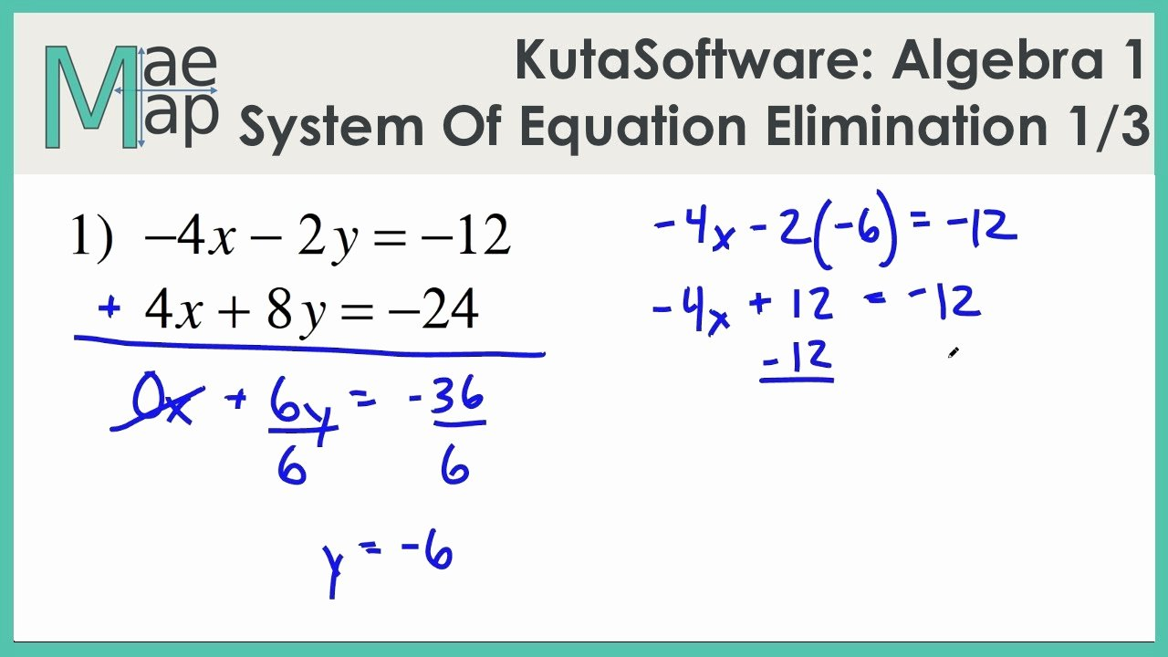 Solving Systems by Elimination Worksheet Elegant solving Systems Of Equations Worksheet Funresearcher