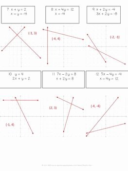 Solving Systems by Graphing Worksheet Awesome solving Systems Of Equations by Graphing Practice