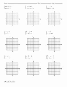 Solving Systems by Graphing Worksheet Beautiful Systems Of Equations solve by Graphing Algebra Worksheet