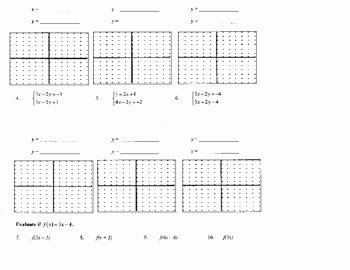 Solving Systems by Graphing Worksheet Inspirational solving Systems Of Equations by Graphing Worksheet by
