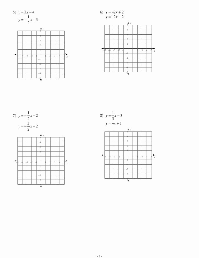 Solving Systems by Graphing Worksheet Unique 7 1 Systems Of Equations Graphing No Key