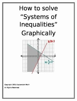 Solving Systems Of Inequalities Worksheet Best Of 10 Best Precalculus Images On Pinterest