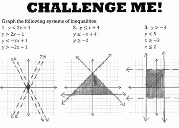 Solving Systems Of Inequalities Worksheet Fresh Systems Of Inequalities Graphing Worksheet by Bill Bihn