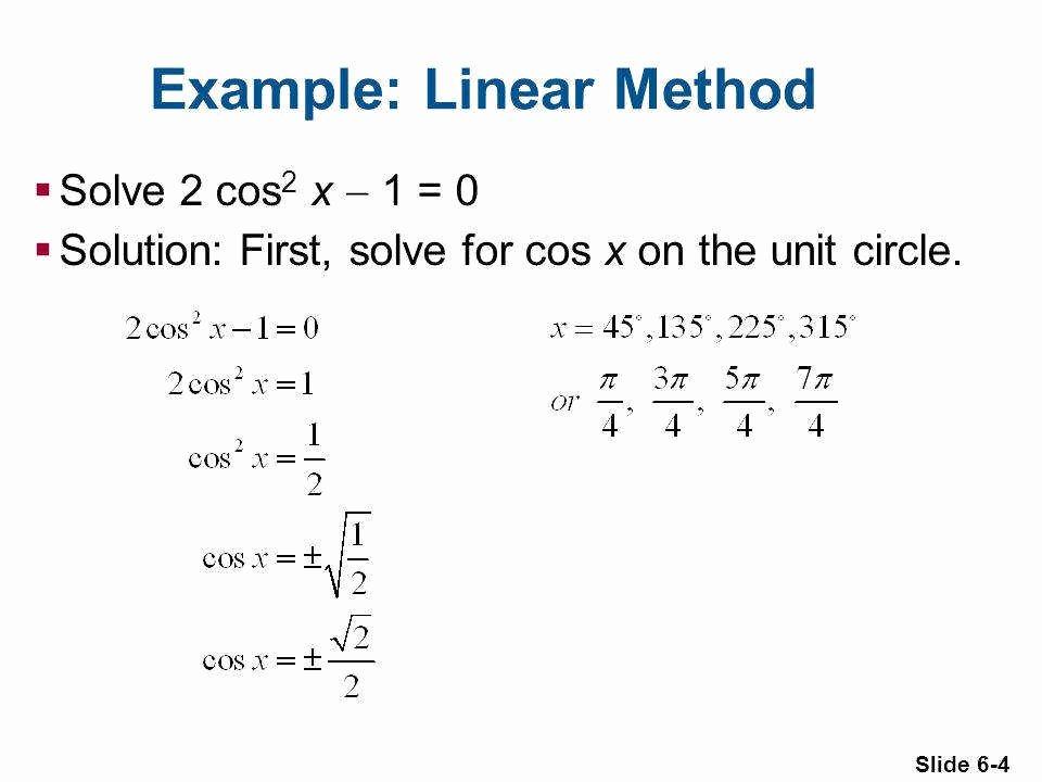 Solving Trig Equations Worksheet Inspirational solving Trig Equations Worksheet