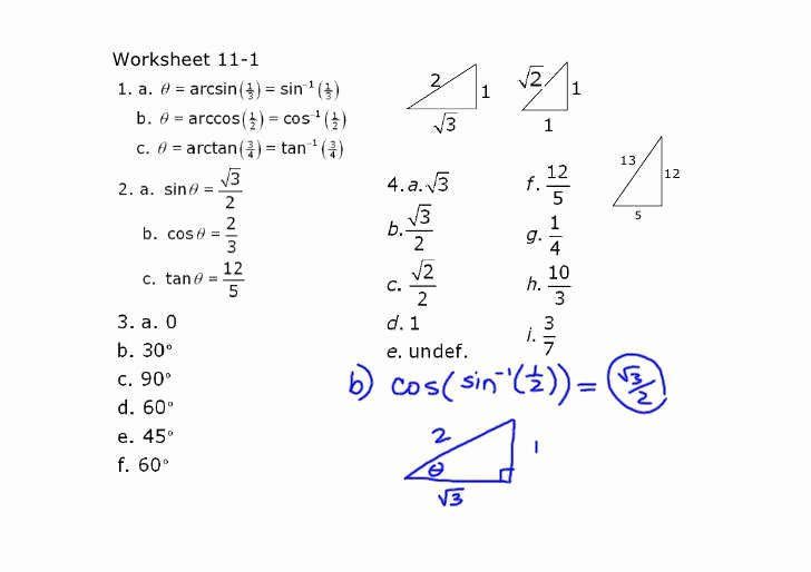 Solving Trig Equations Worksheet Lovely Trig Equations Worksheet