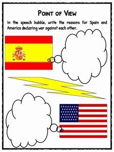 Spanish American War Worksheet Beautiful Spanish American War Facts Worksheets & Key events for Kids