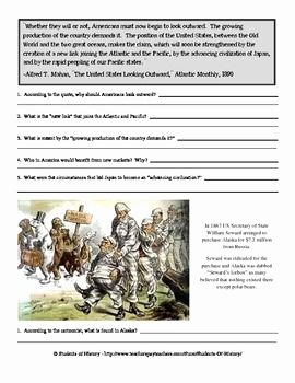 Spanish American War Worksheet Best Of American Imperialism Packet with Primary sources