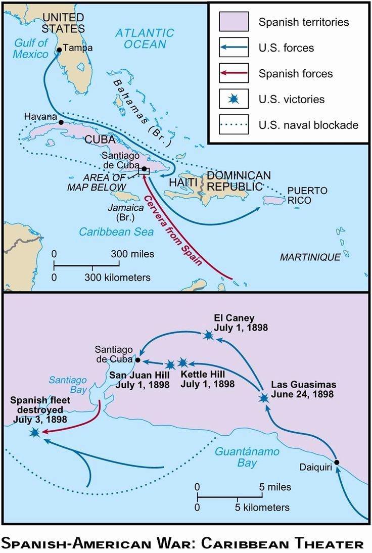 Spanish American War Worksheet Best Of Us Imperialism Map Worksheet