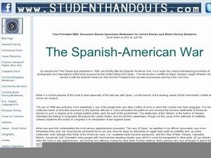 Spanish American War Worksheet Luxury Spanish Worksheets Reviewed by Teachers