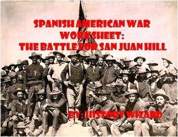 Spanish American War Worksheet New 804 Best Spanish American War 1898 Images On Pinterest