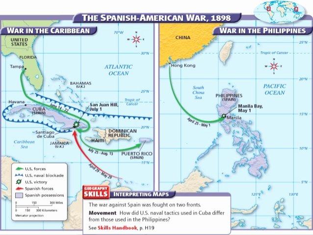 Spanish American War Worksheet Unique 17 2 Spanish American War H